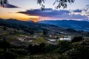 rizeres sunset